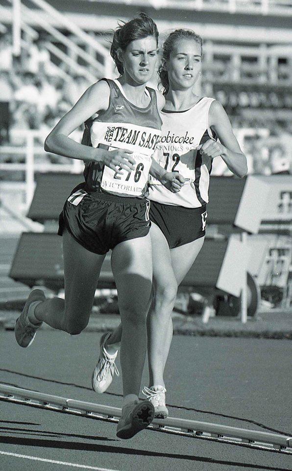 Team Saskatchewan 1994 track race