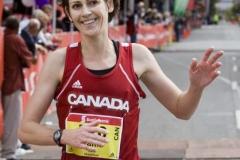 Waterfront Marathon finish 2006